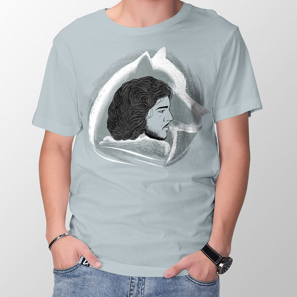 Camiseta Wolf in the North - Masculino