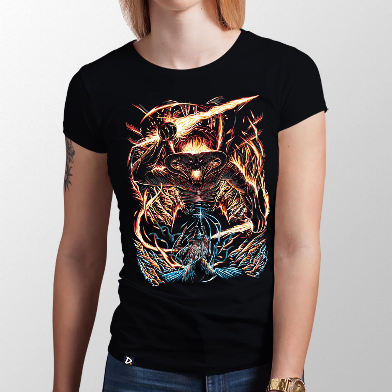 Camiseta You Shall Not Pass - Feminino