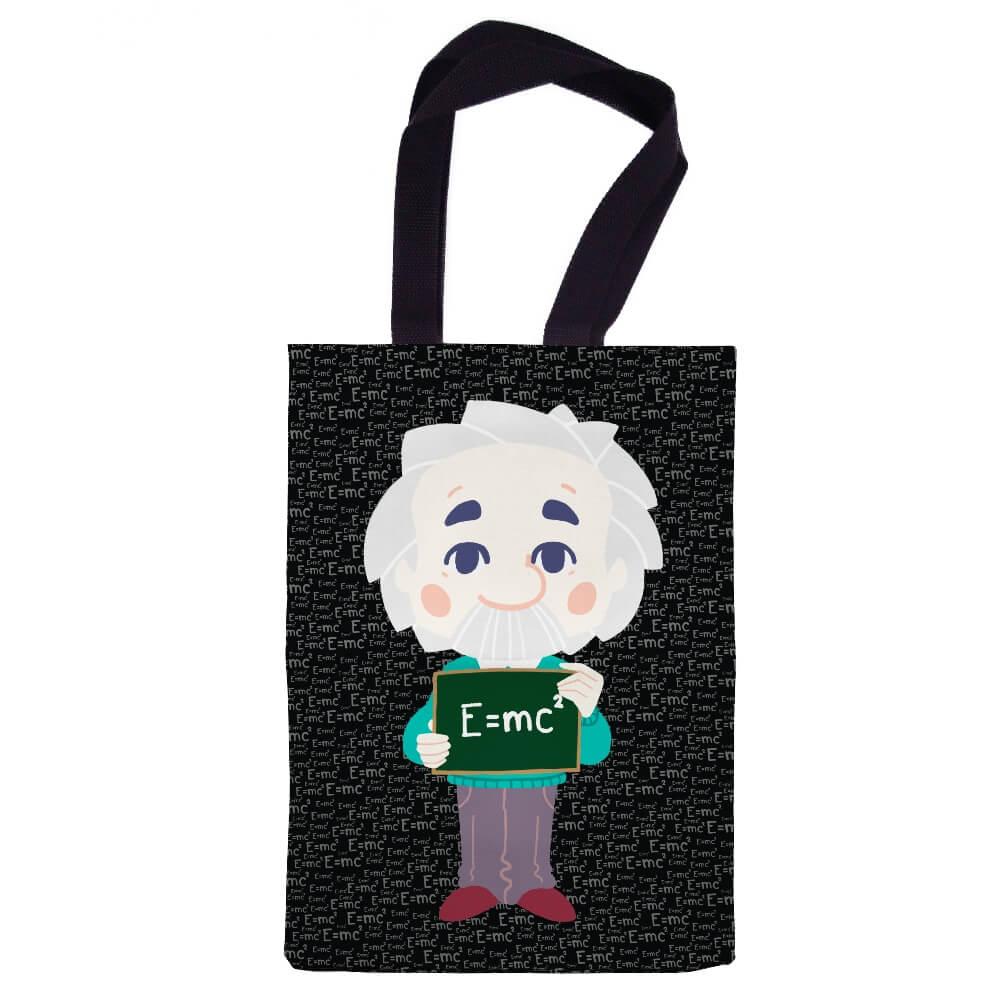 Ecobag Albert Einstein Chibi