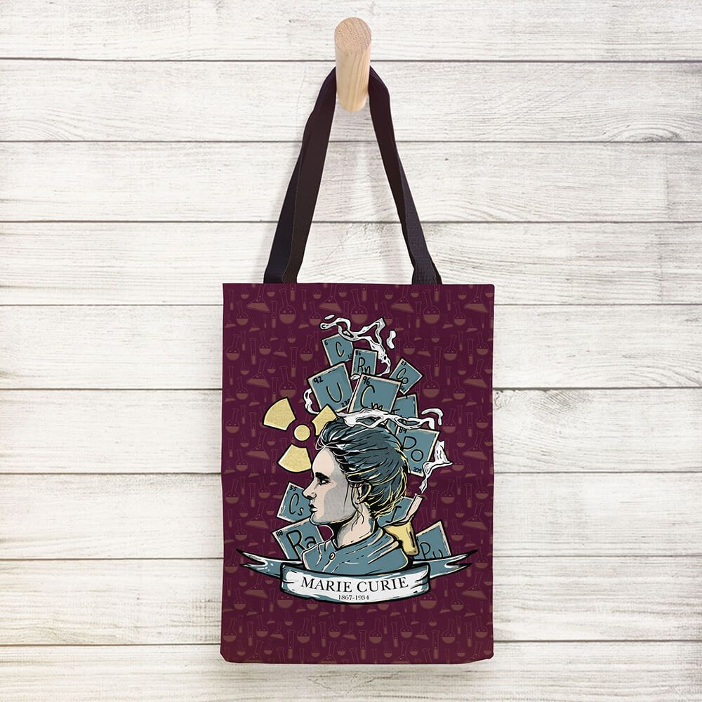 Ecobag Marie Curie