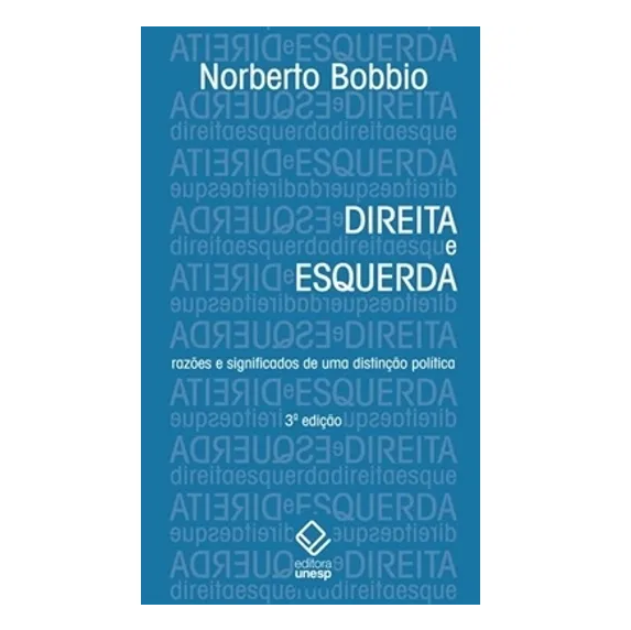 Livro Direita e Esquerda - Norberto Bobbio