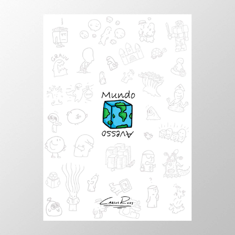 Livro Mundo Avesso - Carlos Ruas (Um Sábado Qualquer)
