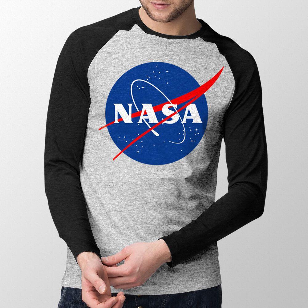 Manga Longa NASA - Masculino