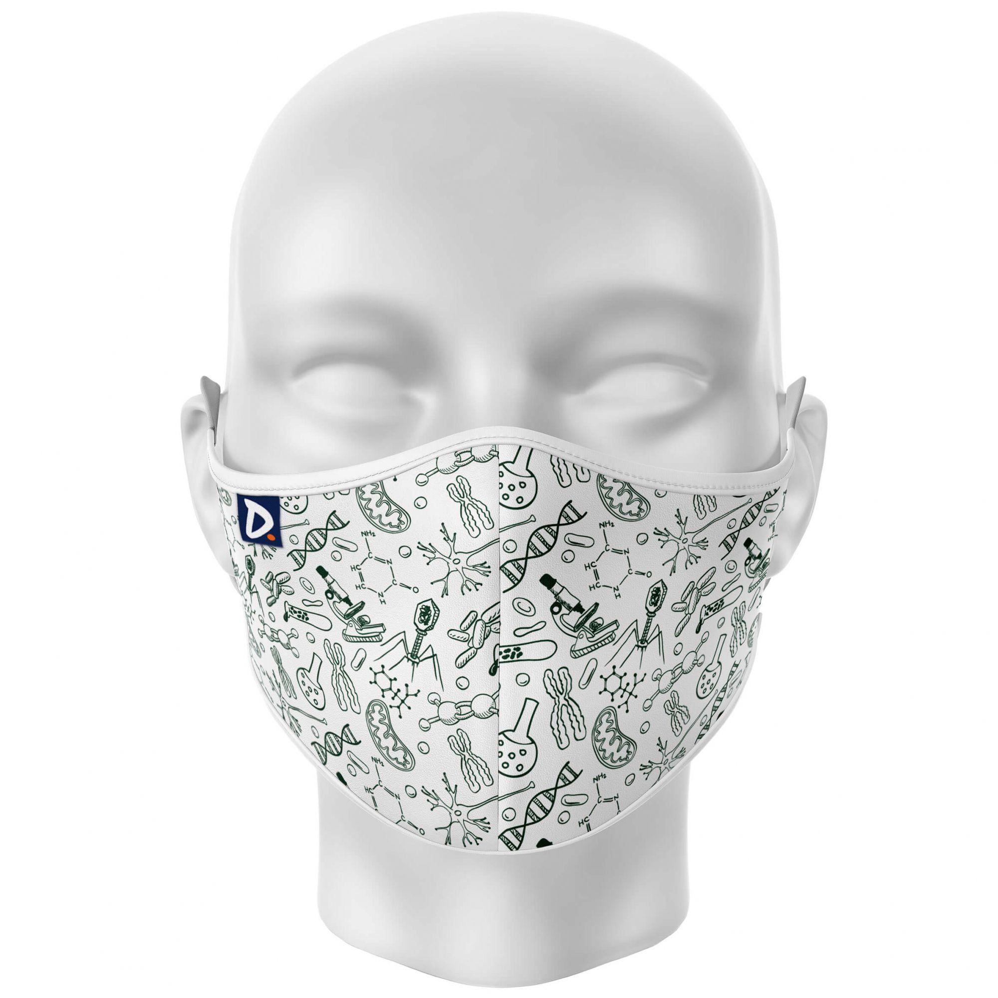 Máscara Biologia