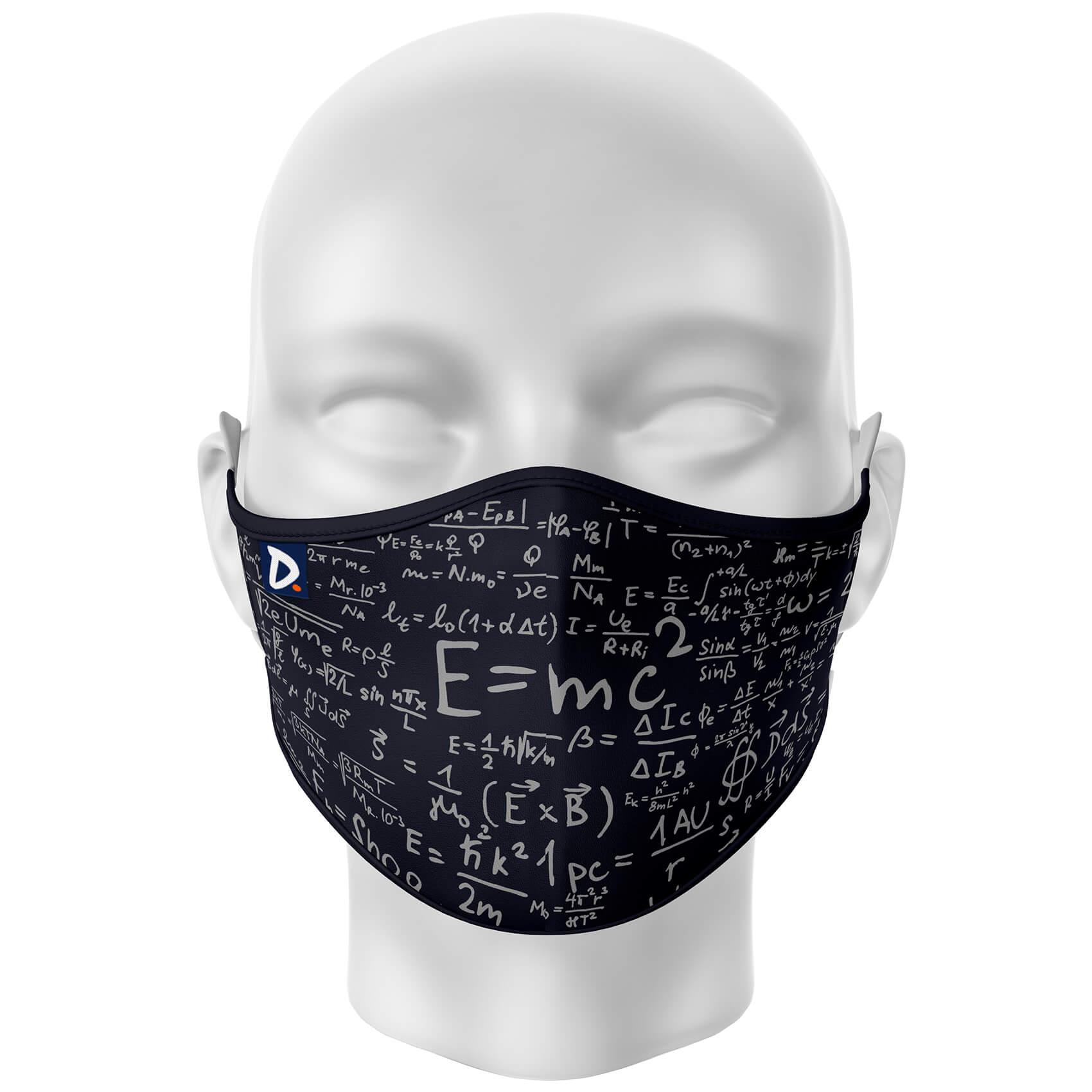Máscara Fórmulas da Física