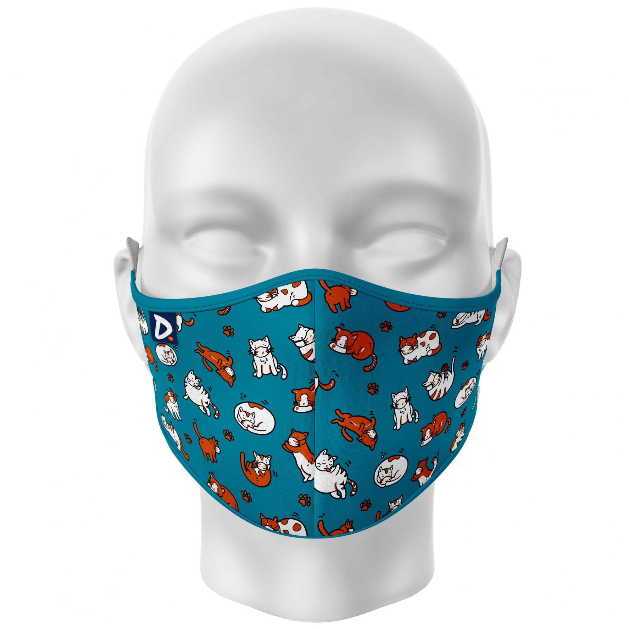 Máscara Gatinhos Mascarados