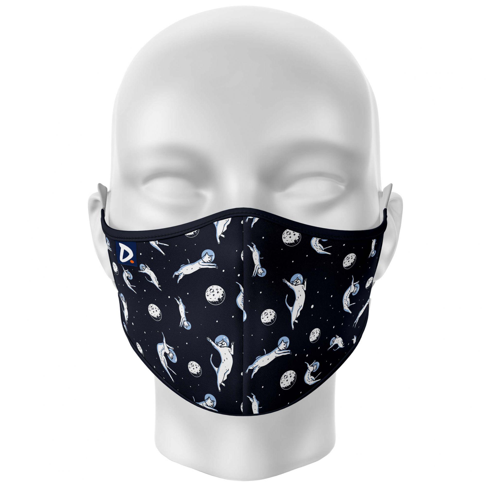 Máscara Gatonautinha