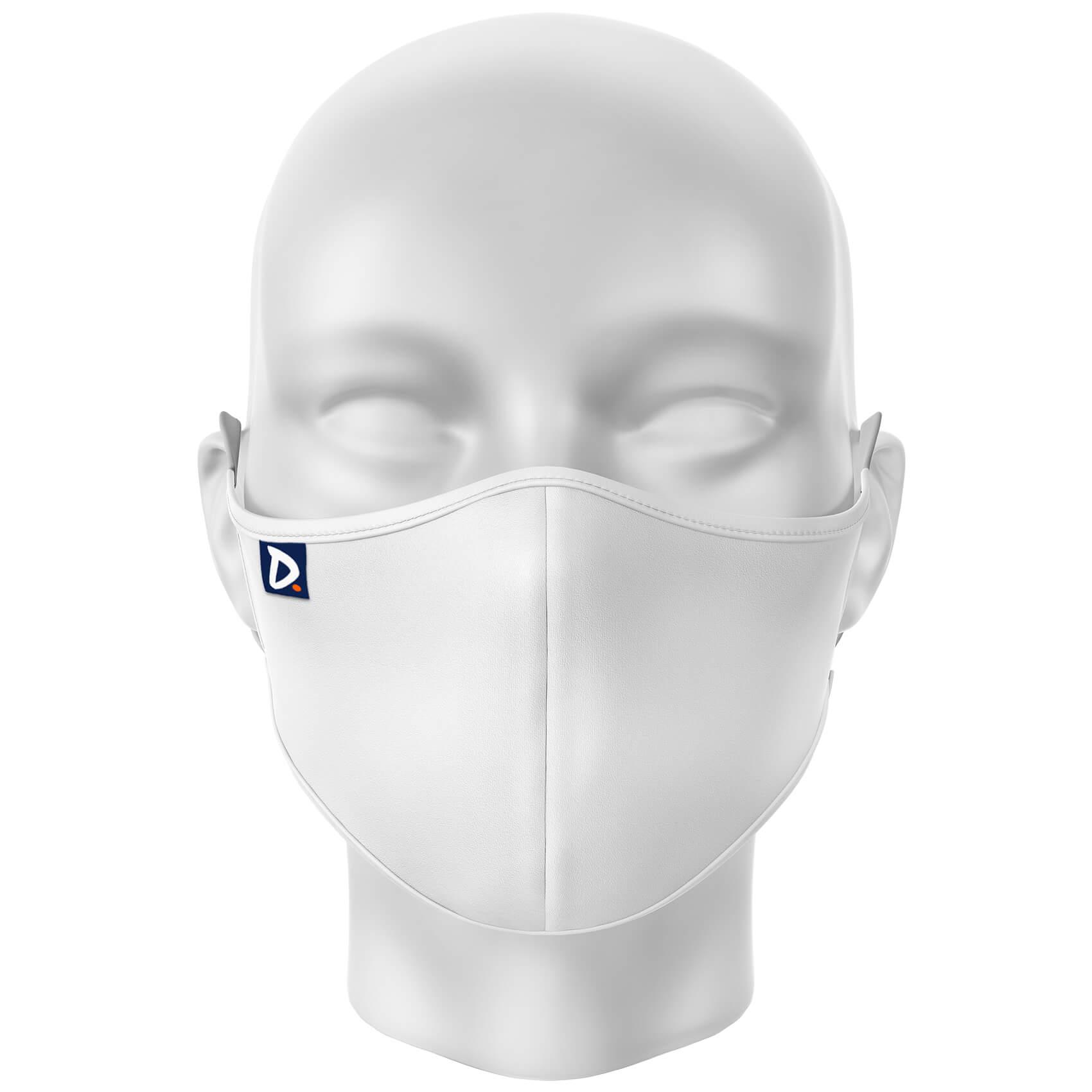 Máscara Lisa Branca
