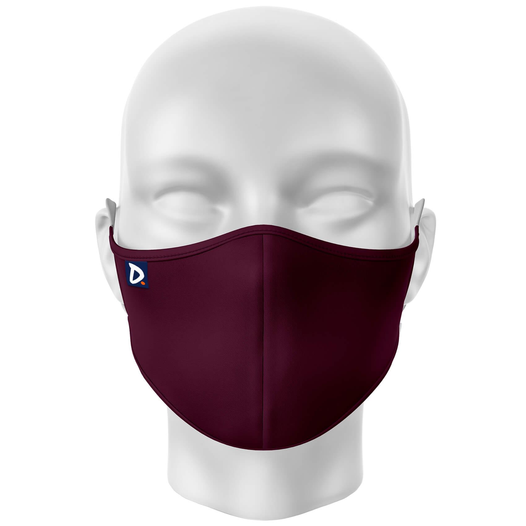 Máscara Lisa Vinho