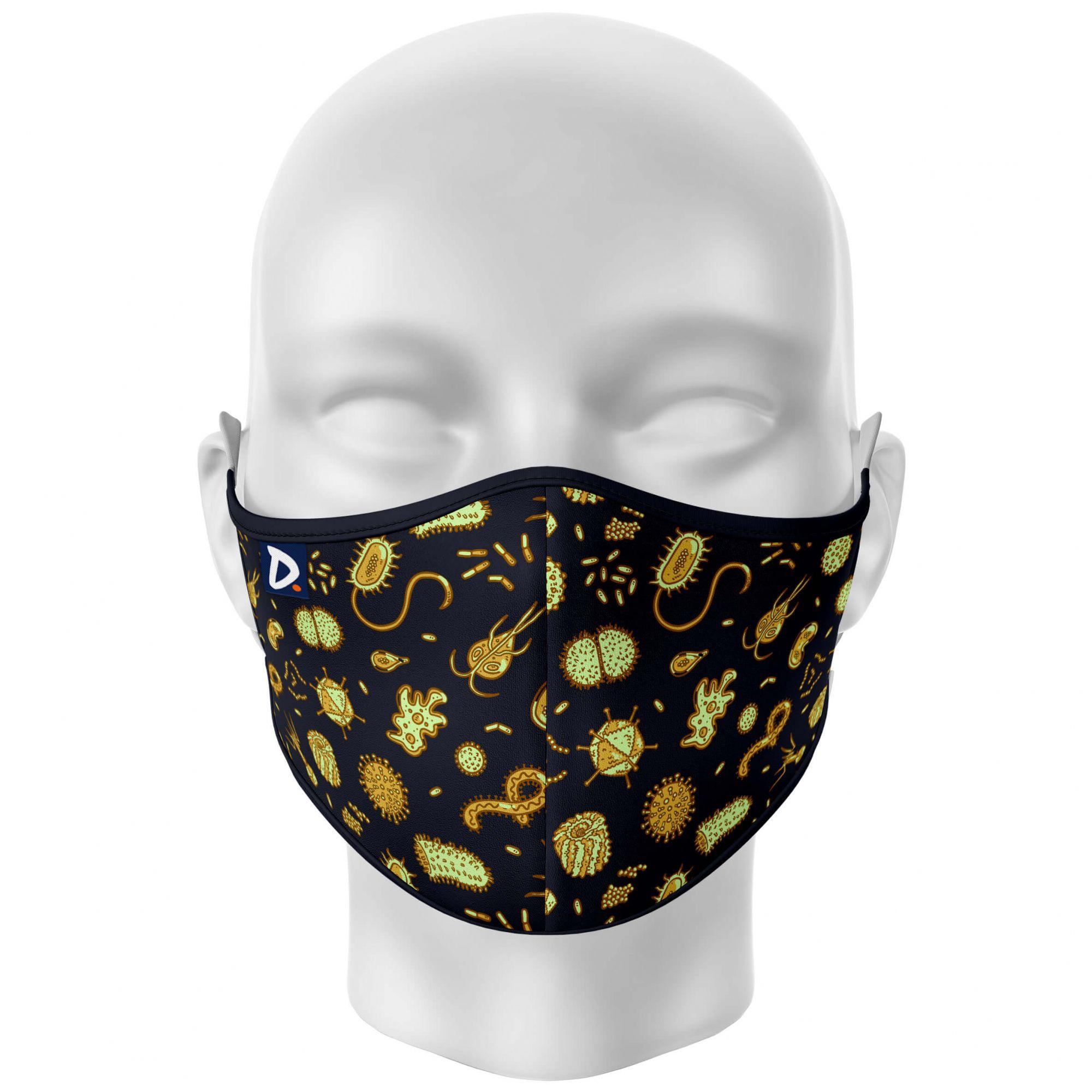 Máscara Microbiologia