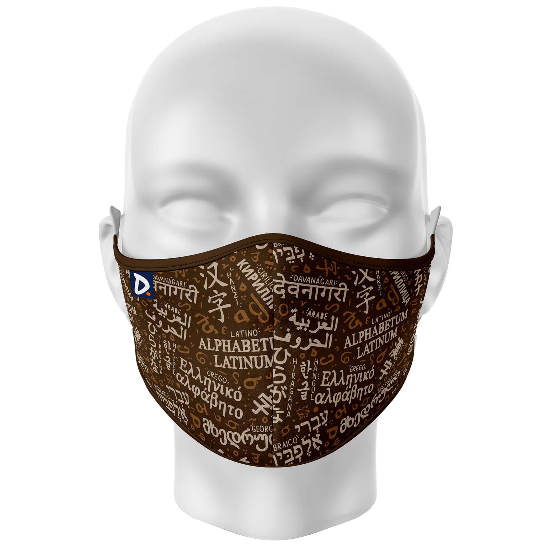 Máscara Sistemas de Escrita