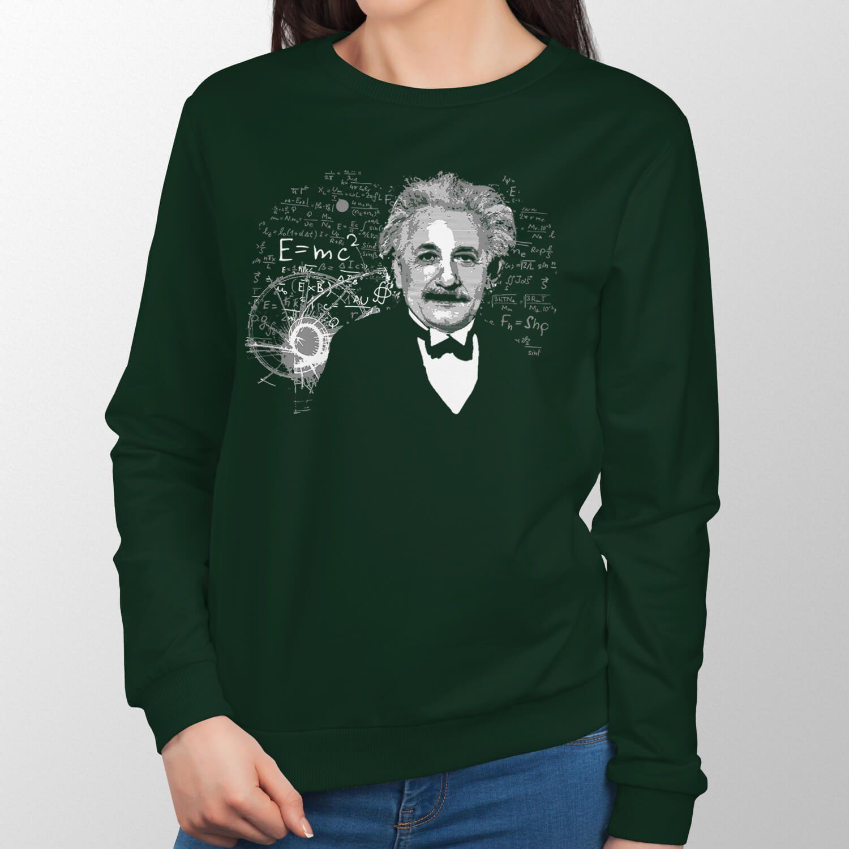 Moletom Albert Einstein Antigo - Unissex
