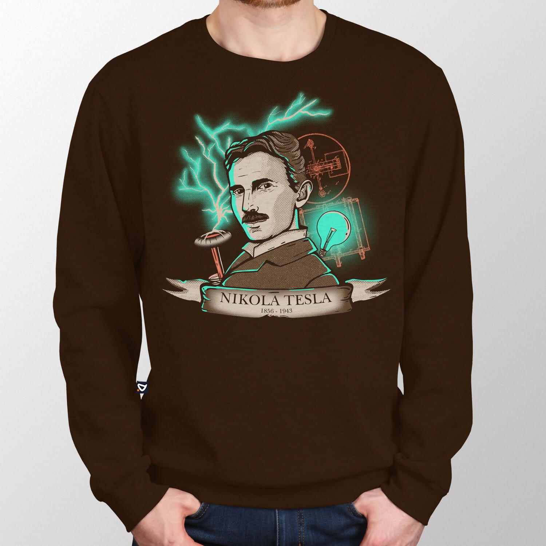 Moletom Nikola Tesla