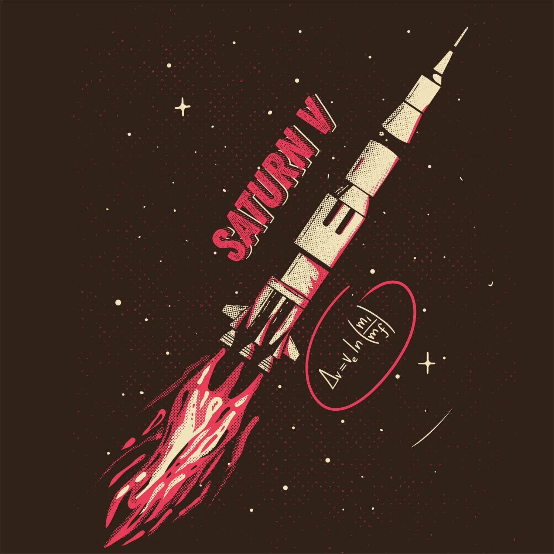 Moletom Saturn V - Unissex