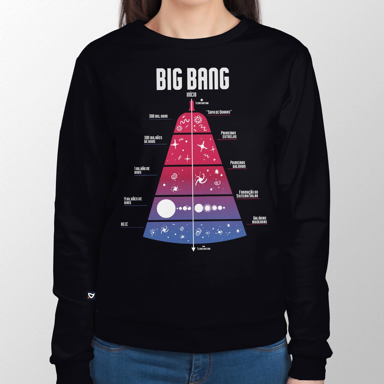 Moletom Timeline Big Bang