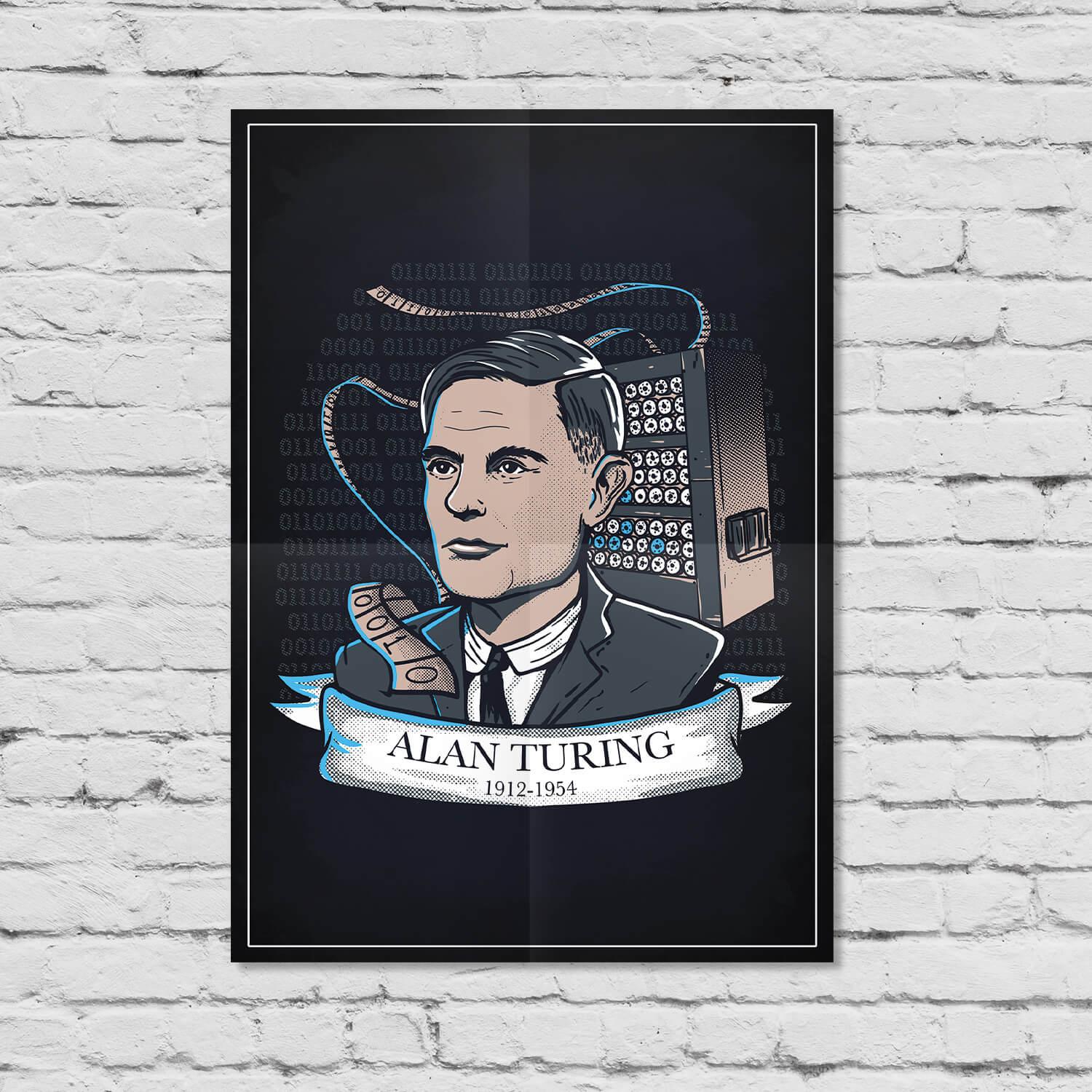 Pôster Alan Turing