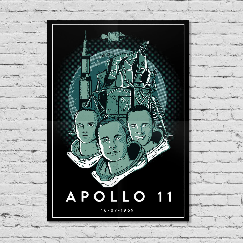 Pôster Apollo 11