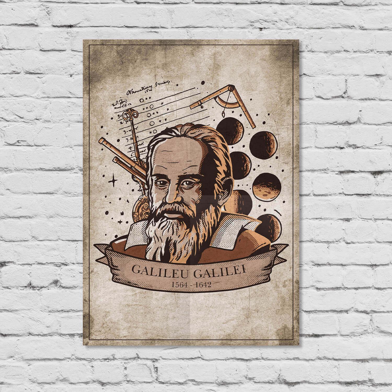 Pôster Galileu Galilei