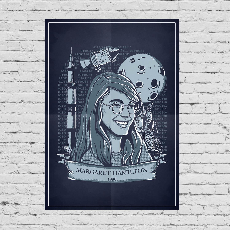 Pôster Margaret Hamilton