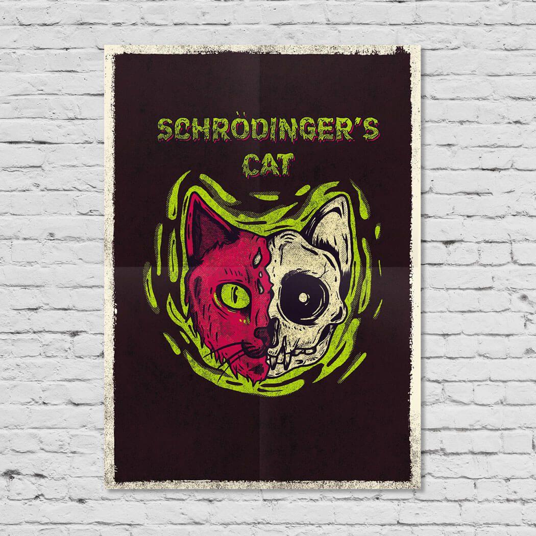 Pôster Schrödinger's Cat