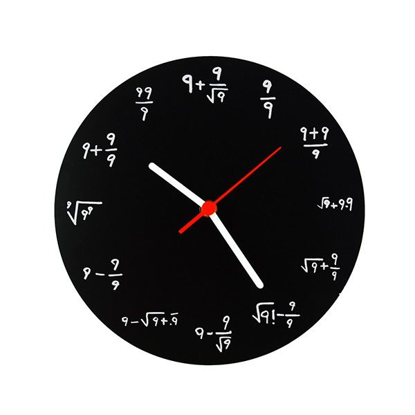 Relógio Fórmulas