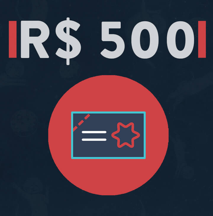 Vale Compra/Presente R$ 500,00