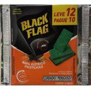 12 Pastilhas Para Refil do Aparelho Elêtronico - Black Flag