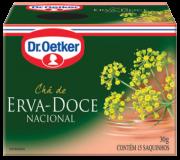 Kit c/ 12un Chá de Erva Doce 15 sachês - Dr. Oetker