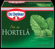 Kit c/ 12un Chá de Hortelã 15 sachês - Dr. Oetker