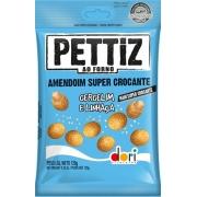 Amendoim Pettiz Crocante Gergelim e Linhaça 120g - Dori