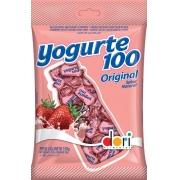 Bala Yogurte 100 Morango - 150g