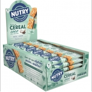 Barra de Cereal Coco com Chocolate com 24 unidades - Nutry