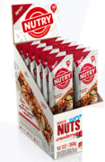 Barra de Nuts Zero Cranberry com 12 unidades - Nutry