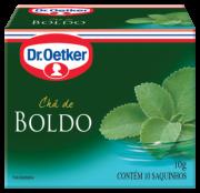 Chá de Boldo 10 sachês - Dr. Oetker