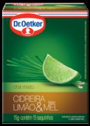 Chá de Capim-Cidreira, Limão & Mel 15 sachês - Dr. Oetker