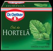 Chá de Hortelã 10 sachês - Dr. Oetker