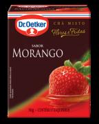 Chá de Morango 15 sachês - Dr. Oetker