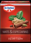 Chá Mate & Especiarias 15 sachês - Dr. Oetker