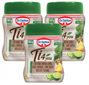 Kit c/ 3un Chá Ti4You Verde - Dr. Oetker