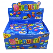 Display c/ 12un Disqueti Chocolate 80g