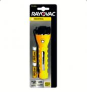 Lanterna Compact Amarela 3 LEDs com 2 Pilhas AA - Rayovac