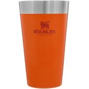 Copo Térmico de Cerveja S/ Tampa STANLEY 473ml - Laranja