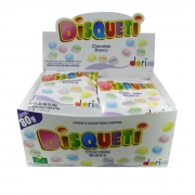 Display c/ 12 Disqueti Chocolate Branco 80g