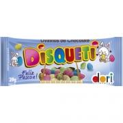 Display c/ 18un Mini Ovinhos de Páscoa Chocolate 29g - Disqueti  Dori