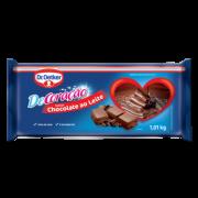 Kit c/ 03un Coberbetura Barra Chocolate ao Leite 1,01kg