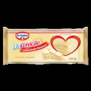 Kit c/ 03un Cobertura Barra Chocolate Branco 1,01kg