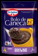 Kit c/ 12un Bolo de Caneca Brownie 70g