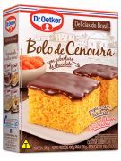 Kit c/09un  Bolo de Cenoura c/ chocolate 450g