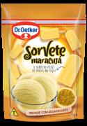 Kit c/ 09un Sorvete em Pó - Maracujá 150g