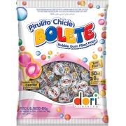 Kit c/10un Pirulito Chicle Bolete  Tutti Frutti - 400G